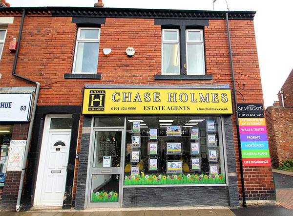 Chase Holmes Office in Hebburn