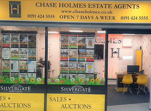 Chase Holmes Office in Jarrow